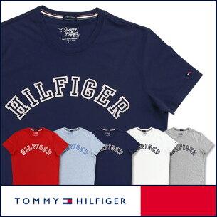 トミーヒルフィガークルーネック Tシャツ オーガニックコットン トミーロゴプリント