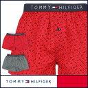 セール!40%OFFTOMMY HILFIGER|トミーヒルフィガー Flag Woven Boxer Geo コットン ジオ トランクス 5335-5235男...