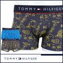 TOMMY HILFIGER|トミーヒルフィガーアンダーウェア ボクサーパンツMicrofiber trunk flex printマイクロ トランク フ…