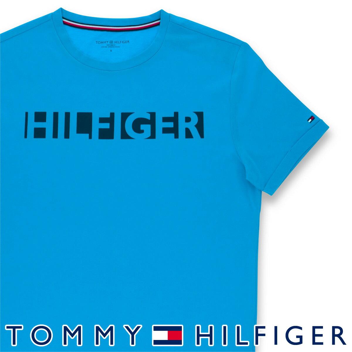 【スーパーDEALポイント20%還元】セール!TOMMY HILFIGER|トミーヒルフィガー【PREMIUM TECH】 RN TEE SS綿混 ロゴ 半袖 Tシャツ男性 メンズ プレゼント 贈答 ギフト5337-0262
