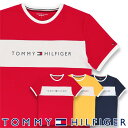 TOMMY HILFIGER トミーヒルフィガー【COTTON ICON】 CN TEE SS LOGO FLAGコットン ロゴ 半袖 Tシャツ男性 メンズ プレゼント 贈答 ギフト5338-0561ポイント10倍