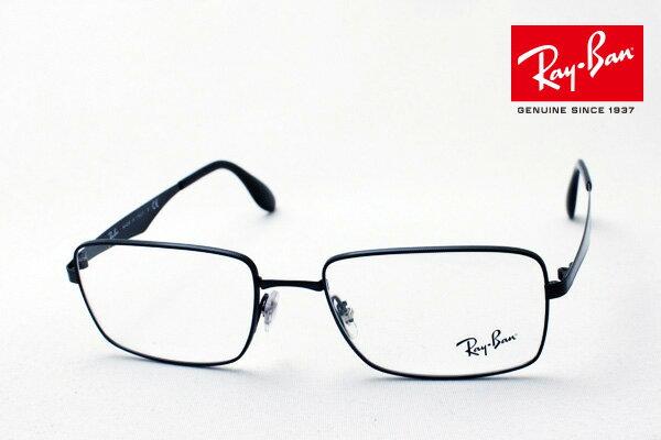 明日の朝9時59分終了です ほぼ全品ポイント15〜20倍+3倍 正規レイバン日本最大級の品揃え レイバン メガネ フレーム Ray-Ban RX6329 2509 伊達メガネ 度付き ブルーライト ブルーライトカット 眼鏡 メタル 黒縁 RayBan スクエア