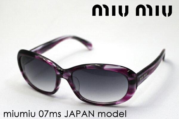 ミュウミュウ サングラス MU07MS AC93M1 miumiu オーバル レディース