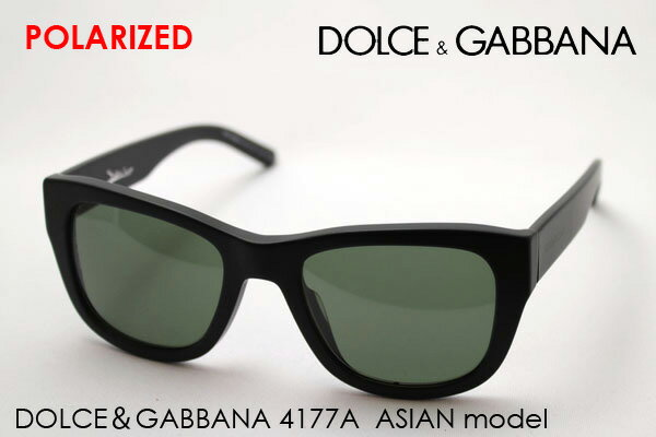 ドルチェ&ガッバーナ サングラス 偏光 DG4177A 19349A DOLCE&GABBANA ドルガバ