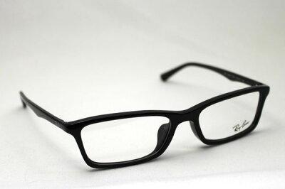 【レイバン正規品販売認定店】【土日祝も休まず18時迄のご注文は即日発送】RX5284F2000RayBanレイバンメガネフルフィットモデル【あす楽対応】glassmaniaメガネフレーム眼鏡伊達メガネめがねブラック