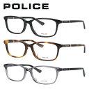 【伊達・度付きレンズ無料】ポリス メガネ フレーム 眼鏡 VPLA11J 全3カラー 53サイズ 度付きメガネ 伊達メガネ ブルーライト 遠近両用 老眼鏡 メンズ レディース ユニセックス スクエア 【POLICE】 【送料無料】