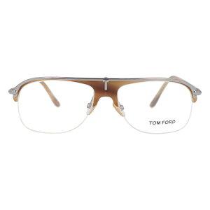 【伊達・度付・PCレンズ対応】【0円レンズ対応】トムフォード眼鏡TOMFORDTF504637356サイズメガネフレームセル/ティアドロップ/ハーフリム/メンズ