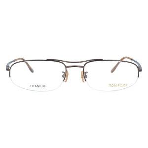 【伊達・度付・PCレンズ対応】【0円レンズ対応】トムフォード眼鏡TOMFORDTF506449155サイズメガネフレームチタン/スクエア/ハーフリム/メンズ