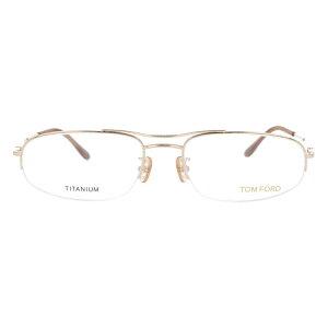 【伊達・度付・PCレンズ対応】【0円レンズ対応】トムフォード眼鏡TOMFORDTF506477255サイズメガネフレームチタン/スクエア/ハーフリム/メンズ