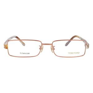 【伊達・度付・PCレンズ対応】【0円レンズ対応】トムフォード眼鏡TOMFORDTF506521754サイズメガネフレームチタン/スクエア/メンズ