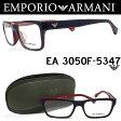 エンポリオ アルマーニ EMPORIO ARMANI メガネフレーム EA3050F-5347 【送料無料・代引手数料無料】 眼鏡 ブランド 伊達メガネ 度付き ネイビー メンズ glasspapa
