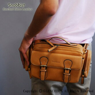 And glove leather 3-WAY lumbar bag
