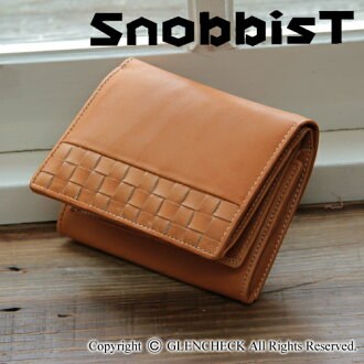Glove leather mesh wallet fs3gm