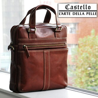Castello] Italian Leather 2Way Length Type Shoulder Bag [Today Point 10 Times]