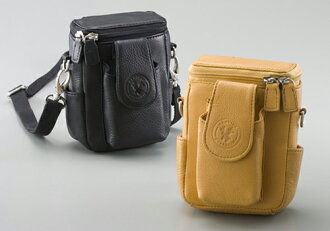 Deerskin (deerskin) 2WAY Belt pouch