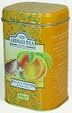 リーフティー100g缶AHMAD TEA(アーマッドティー 紅茶) 『ピーチ&パッションティー(リーフティー100g) FTLL100』【10P03dec10】【マラソンP05】