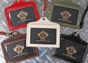 【オロビアンコ/OROBIANCO】IDケースORID-001 BK BR WH[社員証ケース 社員証入れ ネックストラップ id カード]