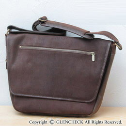 Leather-cowhide leather オイルドレザーメッセン bag ( oily spirit )