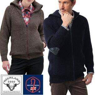 パークレインジャーセーターブルゾン ハイランド カジュアル ファッション セーター