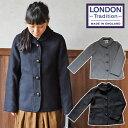 SALE対象!【LONDONTRADITION/ロンドントラディッション】英国製ウール混軽量ジャケットコート【レディース】