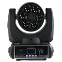 NEW!! LED CREE/RGBW4in1/6×12Wムービングヘッド/mini BeeEyesライト 舞台照明/業務用