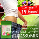 手軽に美味しく235種の酵素が摂れる【 フィトケミカルスムー...