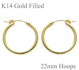 14Kゴールドフィルド(Goldfilled/14KGF)シンプル定番