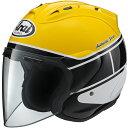 数量限定!! 【あす楽】 ARAI アライ SZ-RAM4 STROBE ストロボ ジェットヘルメット オープンフェイス (Q3C-YSK-000) (YAMAHA・ヤマハ)