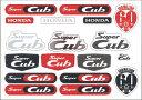 【ホンダ(HONDA)】 スーパーカブ1億台達成記念 Cub ステッカー カスタマイズやデコレーションに 【ホンダ正規取扱店】
