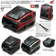 ★送料無料★【Honda】 ツーリングシートバッグ EX-T87 【カラー/レッド/ブラック/グレー】【シート固定型バッグ】ショルダーベルト付き 【0SYEX-T87】