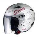 ジェットヘルメット X-AIR RAZZOIII G1 W1(パールホワイト/トライバル) RAZZO3 男性用 女性用 バイク スクーター 原付 シールド LEAD(リード工業) 0SS-GCRAZ3G-W1 ラッツォ