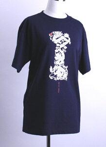 テンロン Tシャツ スリット ネイビー