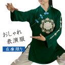 太極拳表演服 短袍 太極ウェア カンフー服『シャングリラ』