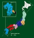 ショッピングパズル 日本都道府県地図パズルピース(大)