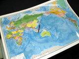 THE WORLD(英文世界地図)小
