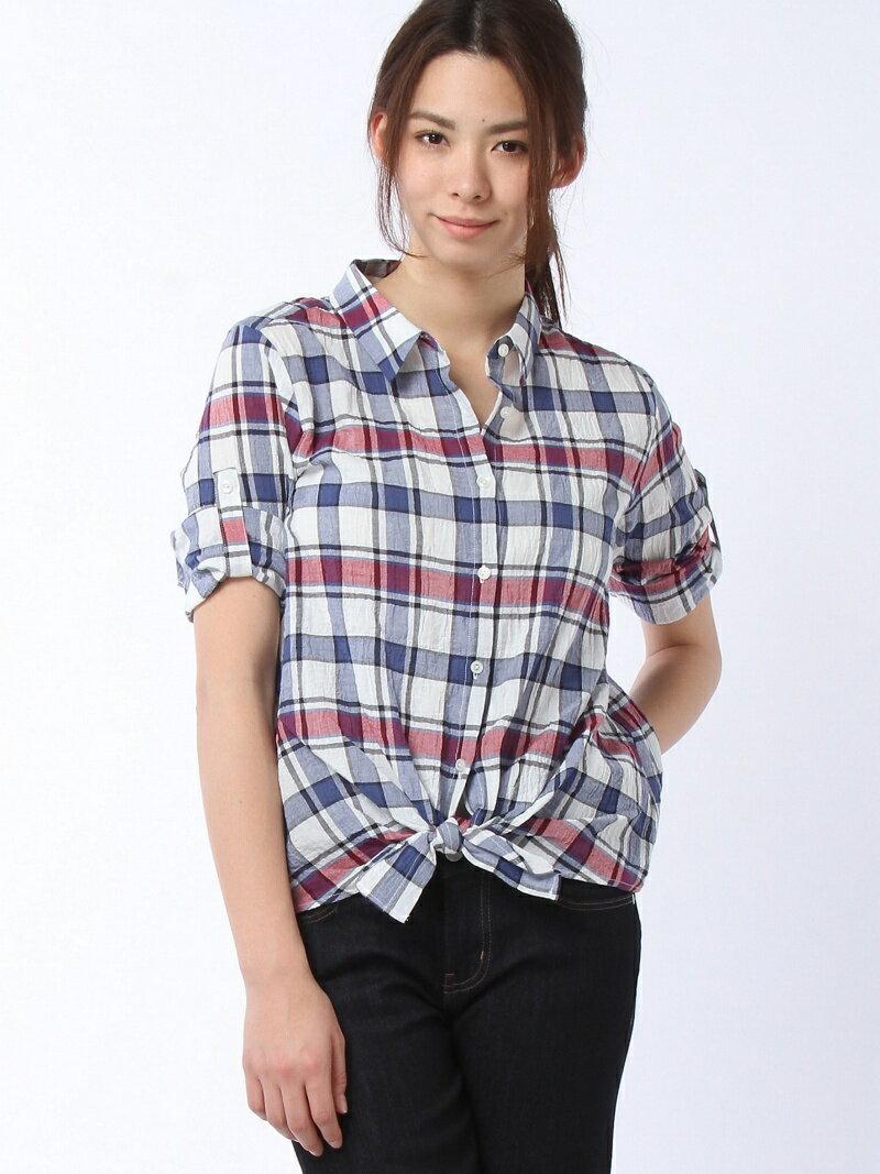グローバルワーク シャーリング2WAYシャツ7S