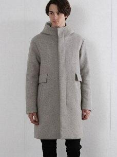 ウールフードコート グローバル ジャケット