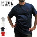 【メール便配送】POLO RALPH LAUREN ポロラルフローレン Tシャツ 半袖Tシャツ 674984 ONEPOINT CREW S/S TEE ワンポイント クルーネック 半袖Tシャツ