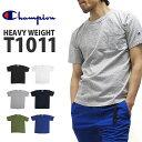 Champion チャンピオン Tシャツ C5-B303 T1011シリーズ ヘビーウェイト ポケット付き 半袖Tシャツ 無地 HEAVY WEIGHT JER...