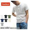 【2枚で送料無料】 Healthknit ヘルスニット Tシャツ ヘンリーネック 906S 02P03Dec16