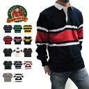 BARBARIAN バーバリアン ラガーシャツ メンズ 長袖 ラグビーシャツ ポロシャツ ボーダー 02P01Oct16
