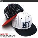 【送料無料】NY ニューヨーク ストライプBBキャップ 帽子 30062 NewEra ニューエラ STUSSY ステューシー スナップバック ストリート カジュアル 男性用 女性用 メンズ レディース メール便不可 02P03Dec16