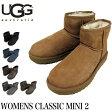 UGG ムートンブーツ WOMENS CLASSIC MINI II アグ オーストラリア クラシックミニ2 レディース 1016222 02P01Oct16