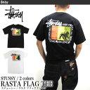 ステューシー STUSSY Tシャツ 1903858 メンズ ラスタ フラッグ 半袖Tシャツ MENS RASTA FLAG TEE ストリート B系 ダンス スケーター 男性用 女性用 メンズ レディース メール便対応 02P01Oct16