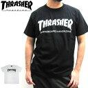 【メール便配送】THRASHER スラッシャー 半袖 マグロゴ Tシャツ メンズ TH8101