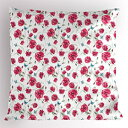 Ambesonne Butterfly Pillow Sham, Mothers Day Spring Themed