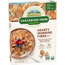 Cascadian Farmオーガニックハーティモーニングファイバーシリ