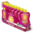 Mamma Chia Organic Vitality Squeeze Snack, Strawberry Banana, 8 Count (Pack of 2)