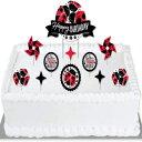 ショッピングバースデーケーキ Big Dot of Happiness Happy Little Ladybug - Birthday Party Cake Decorating Kit - Happy Birthday Cake Topper Set - 11 Pieces