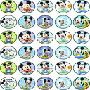 30 x Edible Cupcake Toppers Themed of Baby Mickey